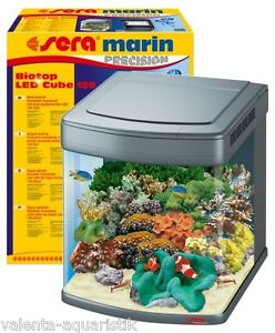 Sera-marin-Biotop-Cube-130-Meerwasser-Komplett-Aquarium-LED