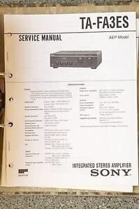 Service-Manual-fuer-Sony-TA-FA3ES