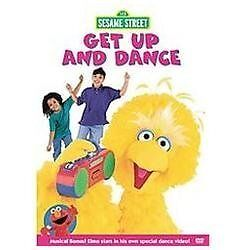 Sesame Street - Get Up and Dance (DVD, 2...