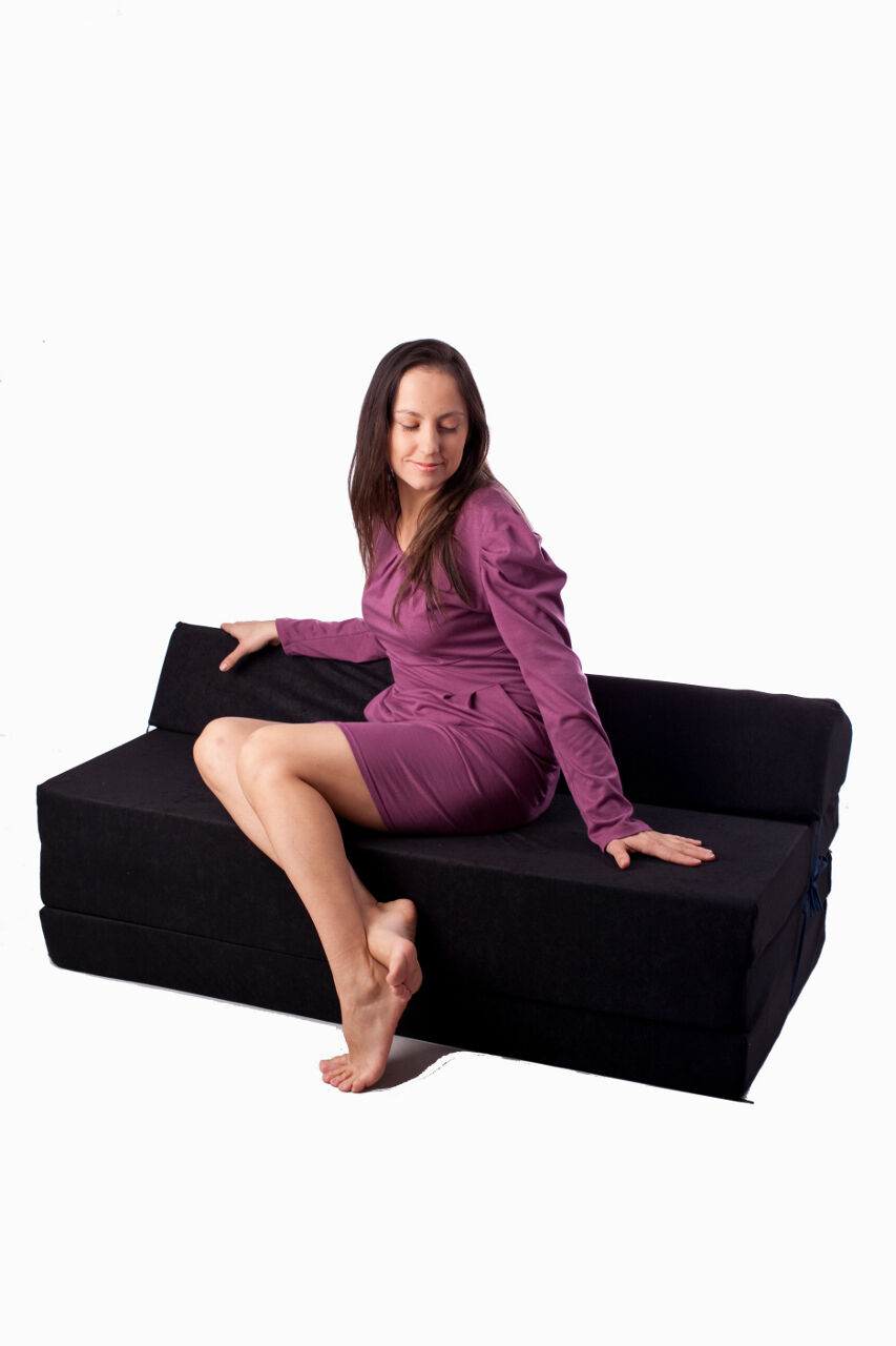 Fold Out Sofa Sofabed Guest Chair Z Bed Futon Mattress Ebay