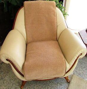 Sesselschoner-1-Stueck-Sesselauflage-Uberwurf-Alpaca-wolle-50x200