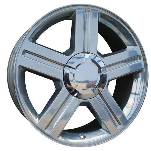 """Set 4 18"""" Chevy Trailblazer Polished Alloy Wheels New"""