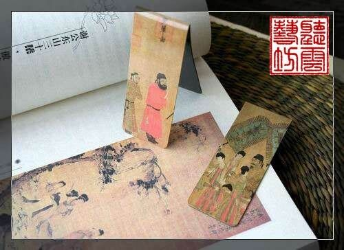 Set of 2 Chinese Ancient Painting Magnetic Bookmark in Books, Accessories, Bookmarks | eBay
