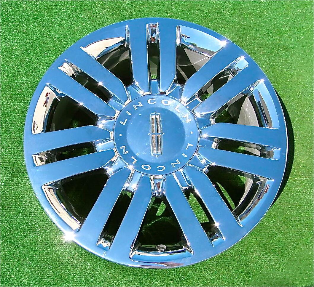 Set of 4 New Genuine Factory Chrome Lincoln Navigator Mark Lt 20 inch Wheels