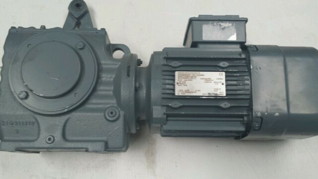 Sew eurodrive gearbox with brake motor 3 ph 41rpm for Sew motors and drives