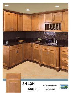 Shaker Cabinets 10x10 Kitchen Cabinets Shiloh Beautiful ...