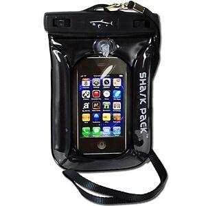 Shark Pack Aqua Wallet Sand Waterproof iPhone Cell Phone Camera