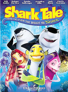 Shark Tale (DVD, 2005, Full Frame)