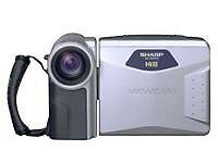 Sharp Viewcam VL-AH131H Camcorder - Silv...