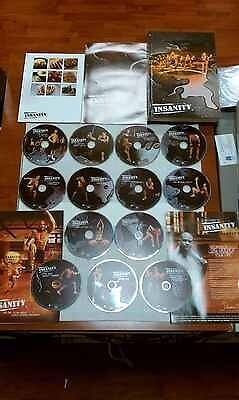 Shaun T Insanity Full 13 DVD Deluxe Set in Sporting Goods, Exercise & Fitness, Gym, Workout & Yoga | eBay