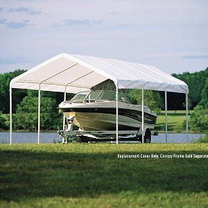 Shelter Canopy Replacement Cover Carport Port 18x20 Garage