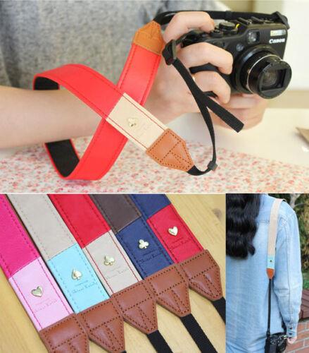 Shinzi Katoh - Alice Camera Strap - Faux Leather DSLR / RF Camera Shoulder Strap in Cameras & Photo, Other | eBay