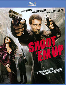 Shoot 'Em Up (Blu-ray Disc, 2011, With S...