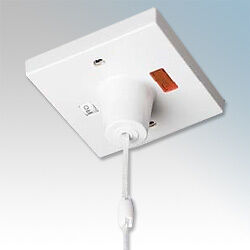 shower ceiling pull switch 45 amp double pole isolator. Black Bedroom Furniture Sets. Home Design Ideas