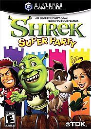 Shrek: Super Party  (Nintendo GameCube, ...