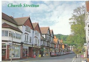Shropshire-Postcard-Church-Stretton-U463