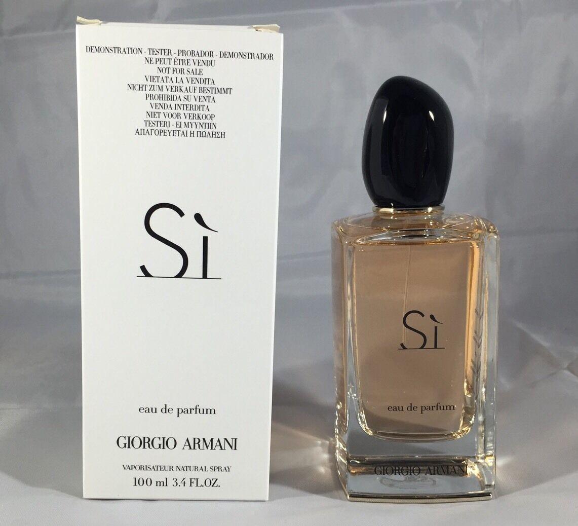 Si By Giorgio Armani 3.4 Oz Eau De Parfum Spray Brand New ...