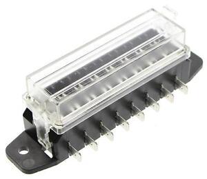Sicherungskasten-Sicherungshalter-Sicherungsdose-8x-KFZ-Flachstecksicherung-S