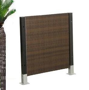 pin polyrattan zaun element 80x4x90cm farbe anthrazitjpg on pinterest. Black Bedroom Furniture Sets. Home Design Ideas