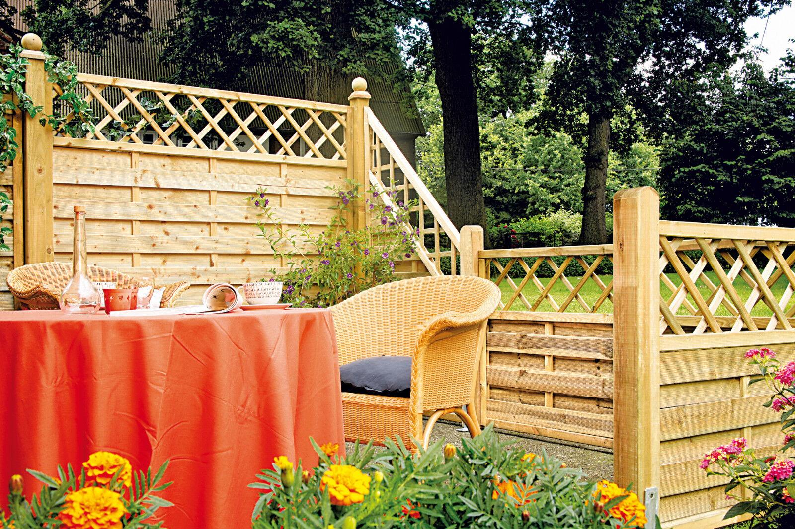 Sichtschutzzaun Texas Sichtschutz Windschutz Zaun Gartenzaun