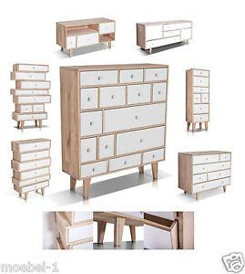 Wohnzimmer Kommode Ebay : ... -Kommode-Highboard-Regal-Anrichte-Florenz-MDF-Weiss-weiss-Wohnzimmer