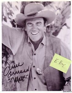 Signed James 'Jim' Arness 8X10 Gunsmoke RP Photo in Entertainment Memorabilia, Autographs-Reprints, Movies | eBay