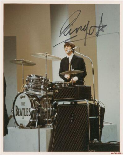 "Signed Ringo ""Beatles"" 8X10 Color RP Photo in Entertainment Memorabilia, Autographs-Reprints, Music | eBay"