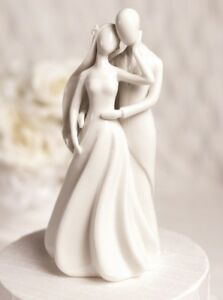 Modern Wedding Cake Toppers on Silhouette Love Modern Bride Groom Wedding Cake Topper   Ebay