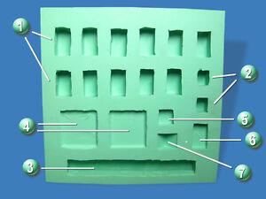 silikonform nr 1 ruinenbausteine krippenbau krippe selber basteln krippenstall ebay. Black Bedroom Furniture Sets. Home Design Ideas