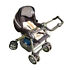 Silver Cross Linear Freeway Jet Sport Standard Single Seat Stroller