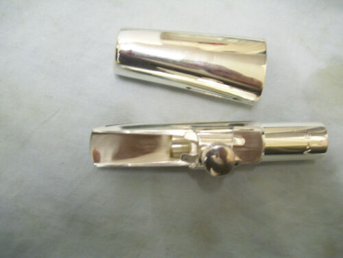 Silver Tenor Saxophone metal Mouthpiece in Musical Instruments & Gear, Woodwind, Saxophone   eBay