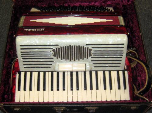 Silvio Franelli Accordion - In Case! in Musical Instruments & Gear, Accordion & Concertina | eBay