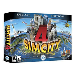 SimCity 4 (Deluxe Edition)  (PC, 2003)