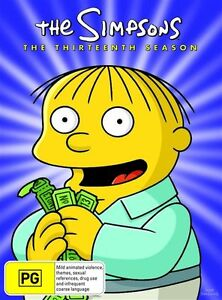 The Simpsons : Season 13 (DVD, 1980, 4-D...