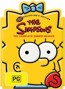 The Simpsons : Season 8 (DVD, 2006, 4-Di...