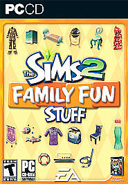 The Sims 2: Family Fun Stuff (PC)*Complete, Excellent Condition