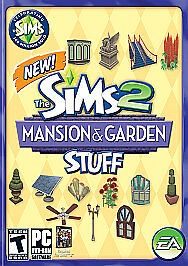 Sims 2: Mansion & Garden Stuff  (PC, 200...