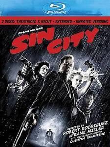 Sin City (Blu-ray Disc, 2009, 2-Disc Set...