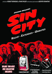 Sin City (DVD, 2005, Special Edition - R...