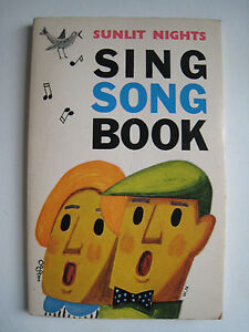 Sing-Song-Book-Sunlit-Nights-Texte-versch-Sprachen-Norwegen