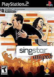 SingStar Amped  (Sony PlayStation 2, 200...