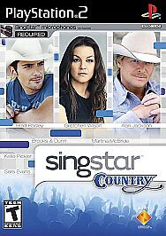 SingStar: Country  (Sony PlayStation 2, ...
