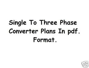 3 Phase Converter Sales, Rotary Phase Converter, and Single to 3
