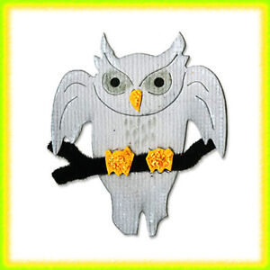 Sizzix Owl with Branch medium die #656747 Cuts Fabric! in Specialty Services, Artistic Services, Other | eBay