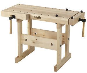 sj bergs holz werkbank hobelbank f r kinder und erwachsene junior senior ebay. Black Bedroom Furniture Sets. Home Design Ideas