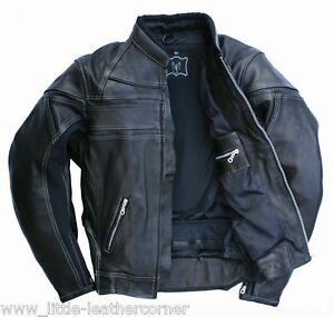 Skorpion-Lederjacke-Harley-Motorradjacke-Roadstar-Gr-62-Motorradlederjacke-NEU