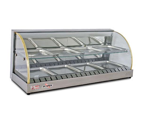 Food Warmer Display Case ~ Skyfood fleetwood fwd countertop double shelf heated