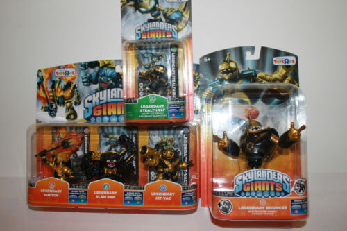Skylanders Giants LEGENDARY IGNITOR SLAM BAM JET VAC BOUNCER +STEALTH ELF in Toys & Hobbies, Action Figures, TV, Movie & Video Games | eBay
