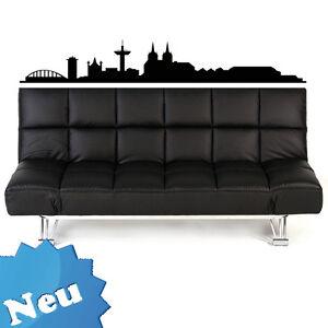 skyline xxl wandtattoo wandtatoo aufkleber k ln 1 m ebay. Black Bedroom Furniture Sets. Home Design Ideas