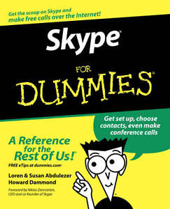 Skype For Dummies by Loren Abdulezer, Su...